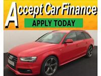 Audi A4 Avant 2.0TDI ( 177ps ) 2013MY Black Edition FROM £72 PER WEEK !
