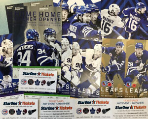 *2018/19 Toronto Maple Leafs Single Game Tickets* NOW ON SALE!!!