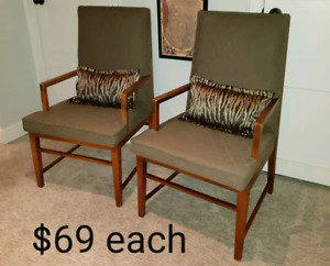 Painted Vintage Accent Chairs *Delivery Available*