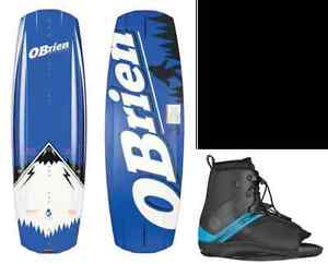 O'Brien High End Baker Wakeboard & Bindings On Sale - SAVE $450