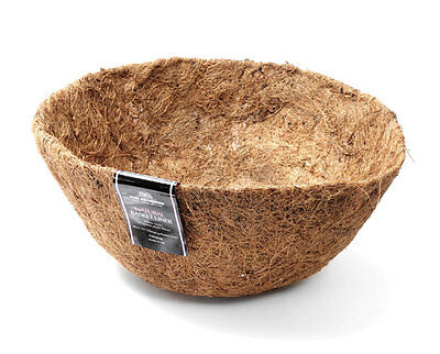 Coco Fibre liner for 30cm Hanging Basket by Tom Chambers - Flower Pot liner