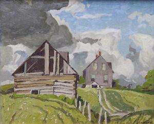 "A.J. Casson Limited Edition ""Farmhouse near Tripp Lake"""
