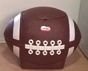 Vintage Little Tikes Football Stoage Chest/Box