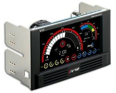 Aerocool En55369 V12Xt Touch Panel Fan Controller w/Color Lcd Display NEW