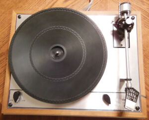 Collectors' item - Thorens TD 165 turntable for audiophiles