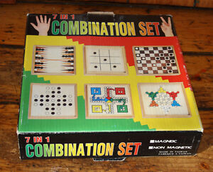 7 in 1 Combination Set of board games