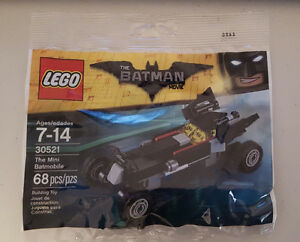 Brand New Lego 30521 The Batman Movie - The Mini Batmobile