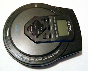 Portable MP3-CD Player - Anti-Skip, up to 10hr. playback