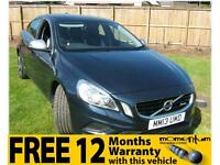 Volvo S60 2.0D D3 136bhp R-Design 2013 13 reg with 44k miles, Heated Seats!
