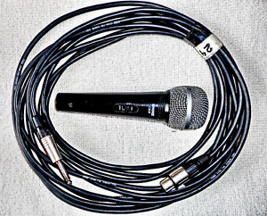 SHURE MICROPHONES C606, C608, Including CABLES