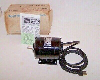 Bodine Usa Nsi-34 Gear Motor Hp 115 Rpm 1725 115v
