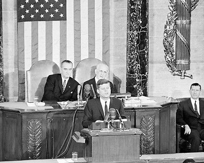 President John F. Kennedy gives 1962 State of the Union Address New 8x10 (John F Kennedy State Of The Union)