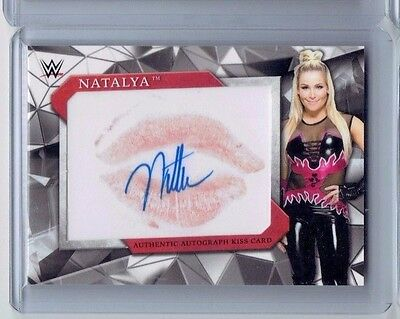 2017 Topps Road to Wrestlemania Autograph Natalya Kiss auto /25 WWE