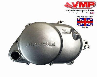 <em>YAMAHA</em> PW80 RIGHT HAND ENGINE CLUTCH COVER JIANSHE PY80 COYOTE 80