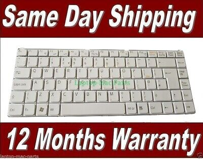 Sony Vaio WVGN-N11M Laptop Tastatur UK Layout Weiß Farbe Modell K070278B1