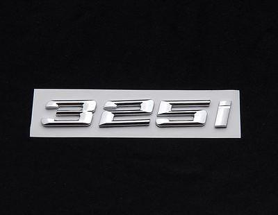 CHROME BMW 330D REAR BOOT EMBLEM BADGE FOR 3 SERIES E90 E91 E92 E93 F30 F31