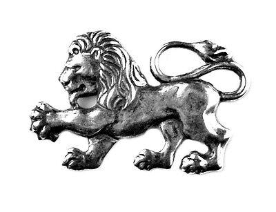 Lion Lapel Pin - Tie Tack - Valentine's Gift - Handmade - Gift Box