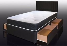 CHRISTMAS FLAT REDUCED PRICES ON SINGLE DIVAN BED AND ORTHOPEDIC MATTRESS SAME DAY DELIVERY CALL NOW