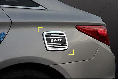 New Chrome Fuel Tank Cap Cover Molding Trim K163 for Hyundai Sonata 11-14