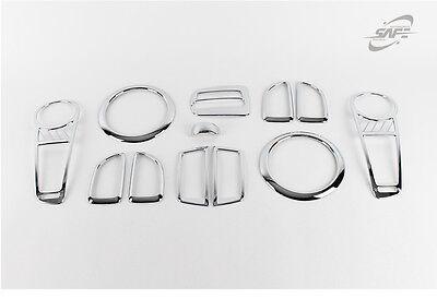 New Chrome Interior Cover Molding Trim Set K320 for Kia Soul 2008 - 2013