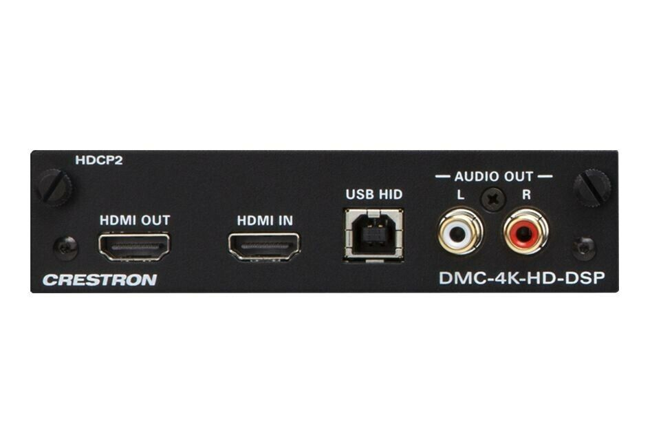Crestron DMC-4K-HD-DSP-HDCP2 4K HDMI Input Card for DM Switches