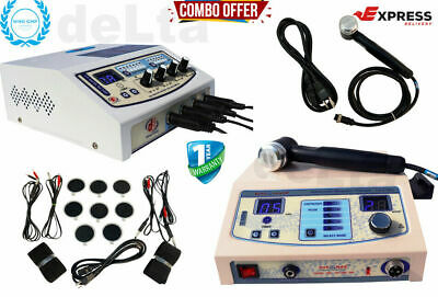 1mhz Ultrasound Therapy 4 Channel Electrotherapy Machine Delta Machines Combo