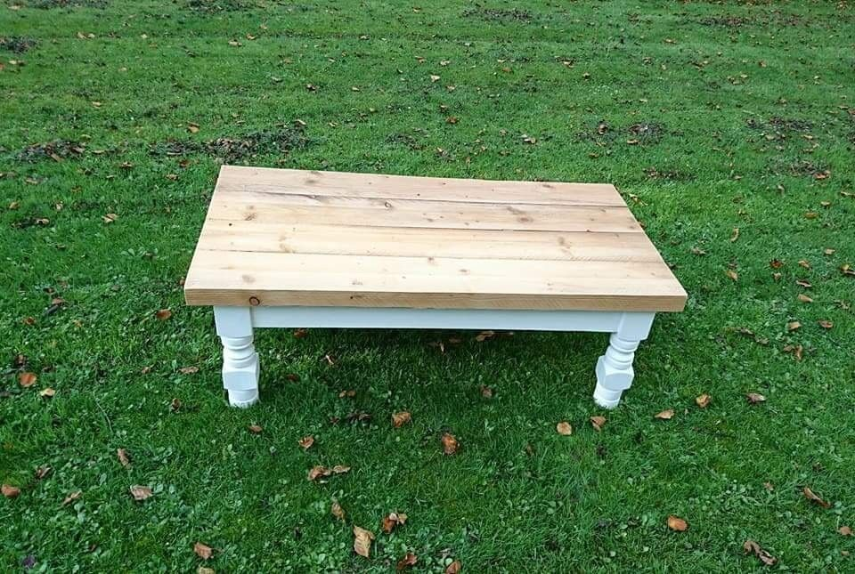 Strange Farmhouse Plank Top Coffee Table In Lisburn County Antrim Gumtree Short Links Chair Design For Home Short Linksinfo