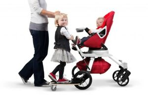 Orbit G2 stroller + sidekick + babyborn carrier