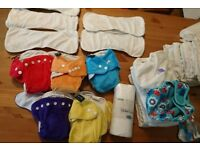 Clothe nappies very good condition