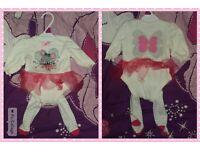 2-piece Christmas Tutu Outfit