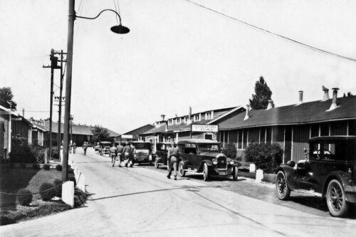 Quantico Regimental Headquarters-Marine Corps-1929 Photo
