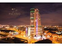 BRIDGEWATER PLACE 1 BED FULLY FURNISHED LARGE BALCONY 28TH FLOOR AVAILABLE NOW