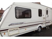 2000 Swift Challenger 4 Berth Touring Caravan Ace Abbey Sterling Group.BARGAIN