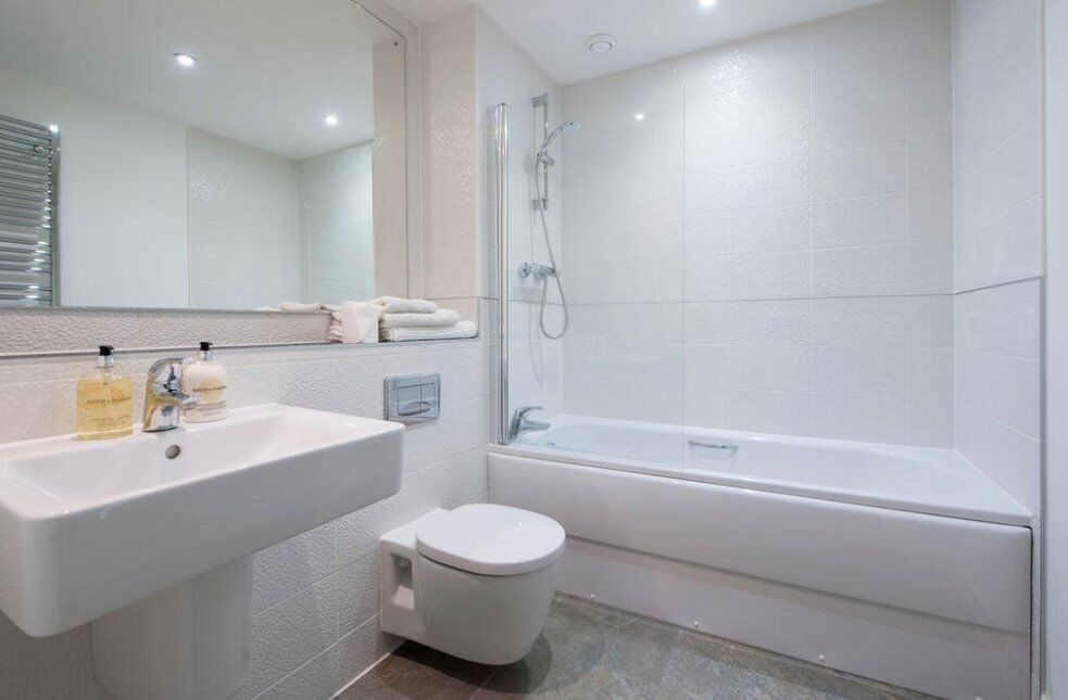 Spacious unfurnished double in beautiful penthouse flat