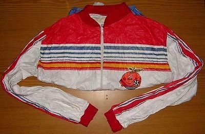 Olympiade merchandise Olympia Mundial 1982 Jacke Kinderjacke Reklame