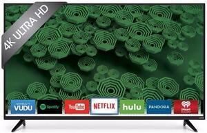 Télévision DEL 50'' D50U-D1 4K UHD 120hz Smart Vizio