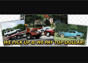 I BUY SCRAP CARS!! TOP DOLLAR