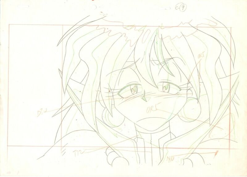 Anime Genga not Cel Slayers #230