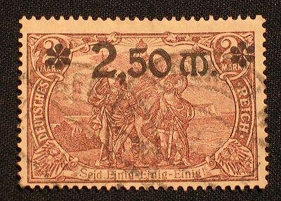 Deutsches Reich Nr. 118 a gestempelt