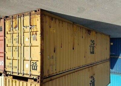Used 40 Dry Van Steel Storage Container Shipping Cargo Conex Seabox Cincinnati
