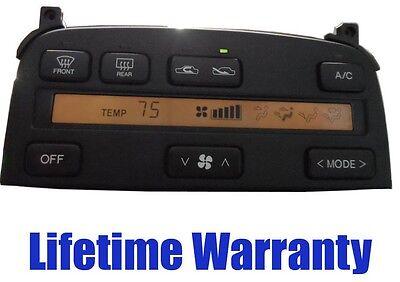 LEXUS LS400 SC300 SC400 CLIMATE CONTROL REPAIR SERVICE NEW LCD & BULBS