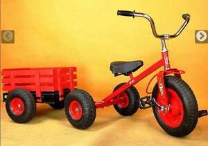 Kid Ride on Toy Large Tricycle Trike & Trailor Set South Granville Parramatta Area Preview