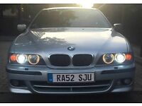 BMW 5 SERIES E39 530D SPORT - RED LEATHER/PARALLELS/SATNAV - FULLY LOADED