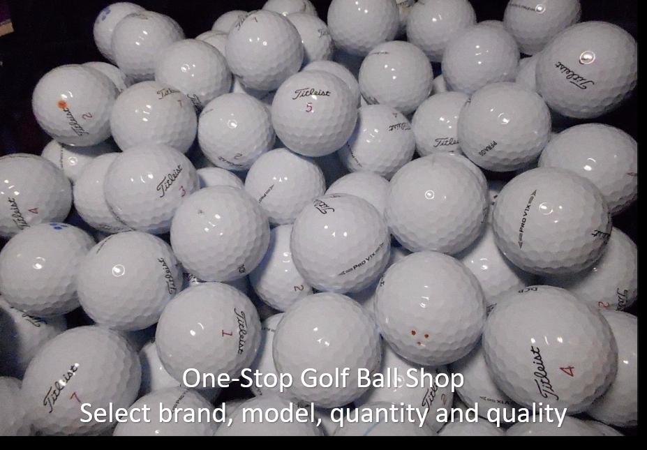 19 99 100 Aaaaa Used Golf Balls Assorted For Sale Oc2o