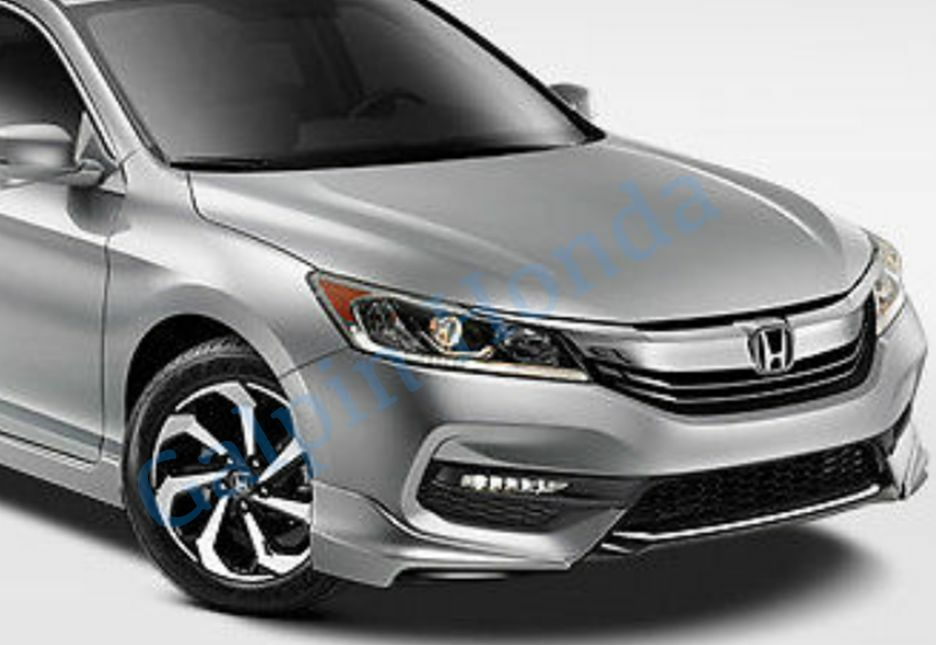 1 Of 2FREE Shipping Genuine OEM Honda Accord 4 Door Sedan Front Under Body  Spoiler Kit 2016