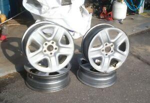 "17"" Steel Rims 5 x 114.3 CB-60.1mm"