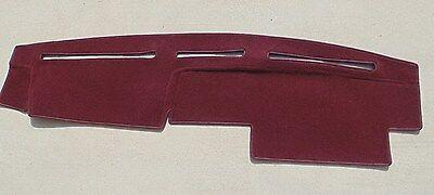 fits 1986-1993 NISSAN HARD BODY TRUCK  DASH COVER MAT   burgundy  - Dash Cover Interior Body