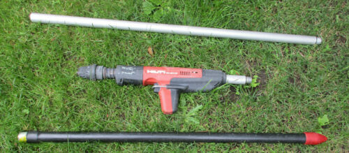 HILTI DX 351-CT Powder Actuated Impact Tool w/ HILTI EXTENSION Poles