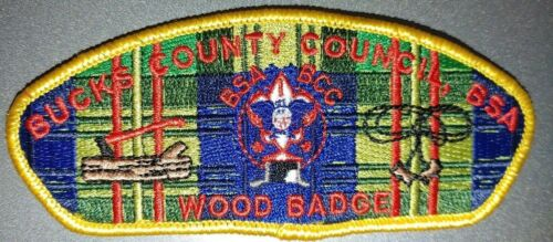 BSA BUCKS COUNTY COUNCIL   WOODBADGE              LIMITED MADE