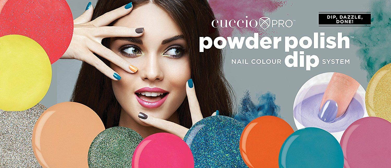 CUCCIO Pro Powder Polish Dip Nail Color 1.6 oz FULL COLLECTI